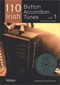 110 Irish Button Accordion Tunes Vol 1