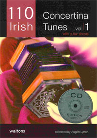 110 Irish Concertina Tunes Vol 1