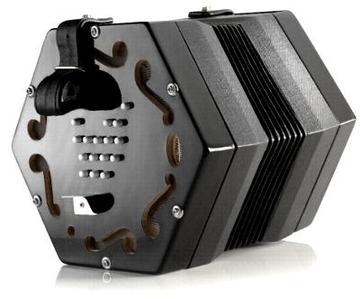 Jack Baritone 30 Key English Concertina